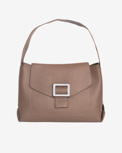 Hvisk BILLOW STRUCTURED Handle Bag 102 Mushroom