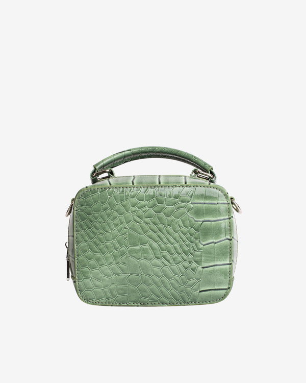 Hvisk BLAZE CROCO Crossbody 002 Dusty Green