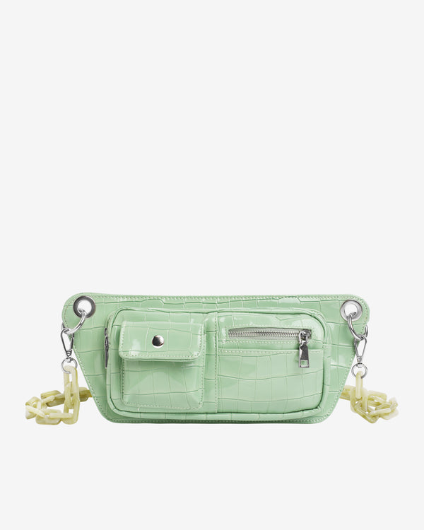Hvisk BRILLAY CROCO Bum Bag 095 Mint Green