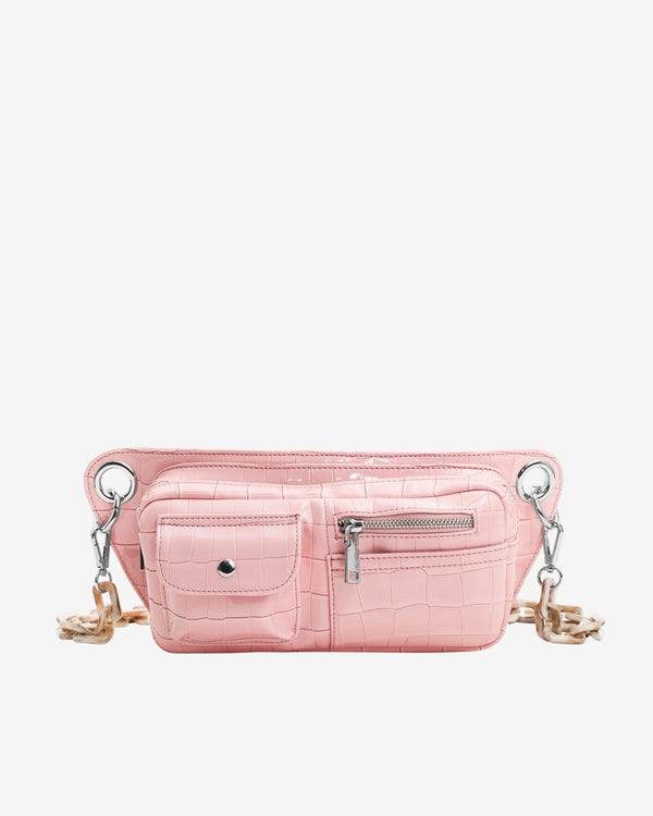 Hvisk BRILLAY CROCO Bum Bag 098 Soft Pink
