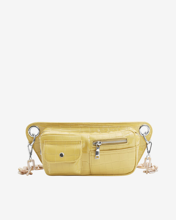 Hvisk BRILLAY CROCO Bum Bag 109 Sunkissed Yellow