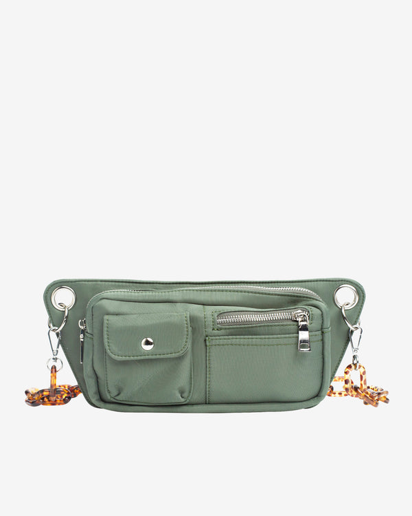 Hvisk BRILLAY NYLON Bum Bag 010 Green