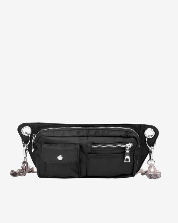 Hvisk BRILLAY NYLON RECYCLED Bum Bag 108 Jet Black