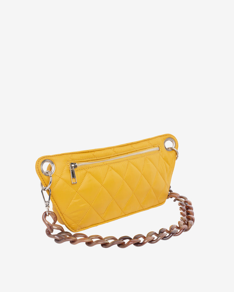 Hvisk BRILLAY QUILTED TRAWL Bum Bag 018 Yellow