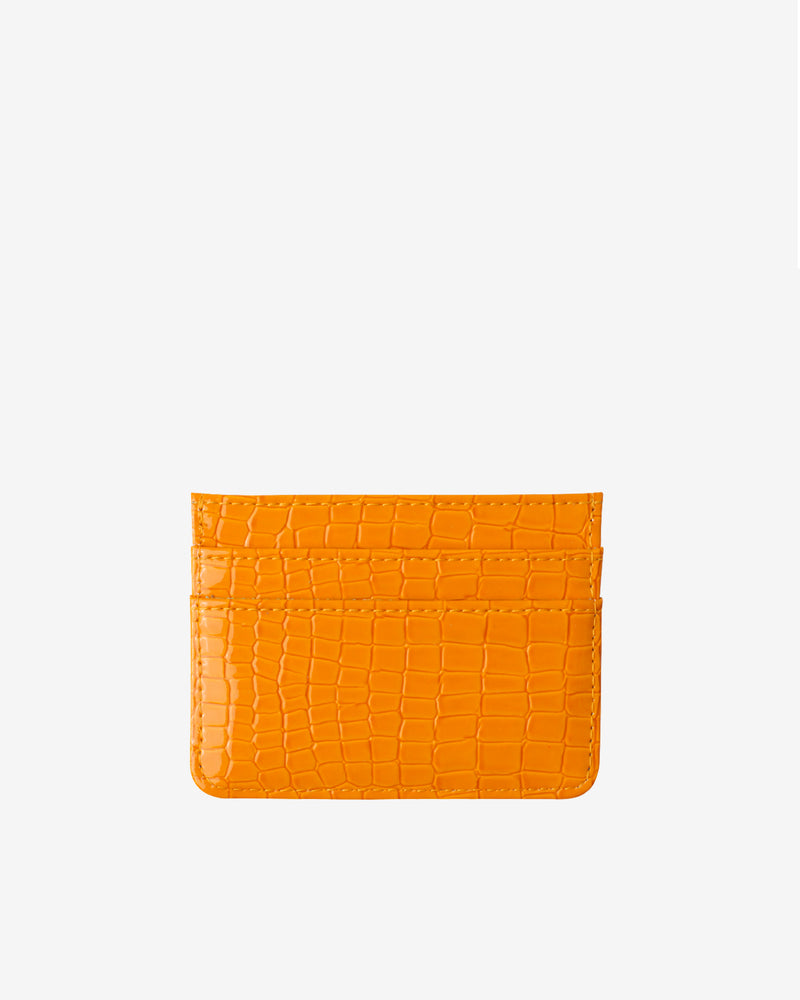 Hvisk CARD HOLDER CROCO Wallet 015 Orange