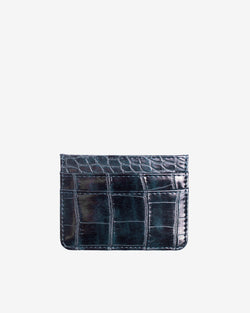 Hvisk CARD HOLDER CROCO Wallet 107 Night Sky
