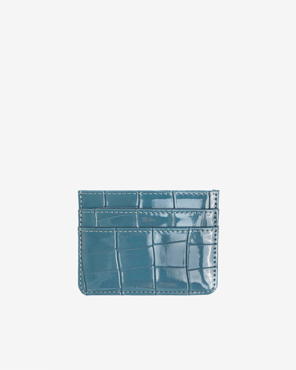 Hvisk CARD HOLDER CROCO Wallet 100 Dark Blue