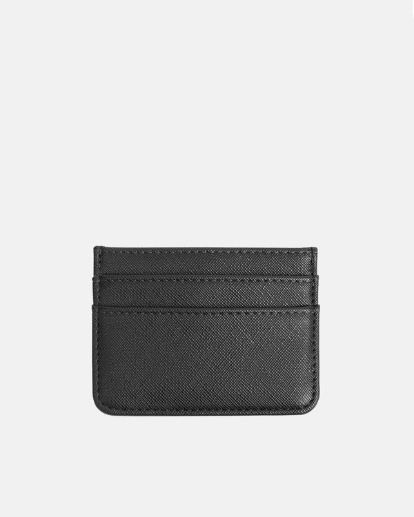 Hvisk CARD HOLDER TEXTURE Wallet 009 Black