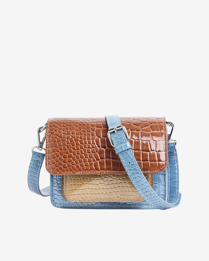 Hvisk CAYMAN MINI MULTI Crossbody 126 Tawny Brown