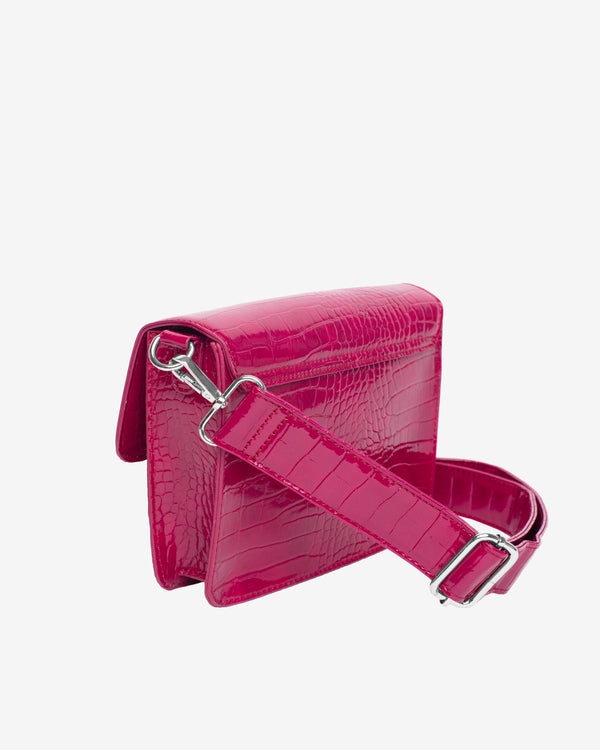 Hvisk CAYMAN POCKET Crossbody 006 Dark Pink
