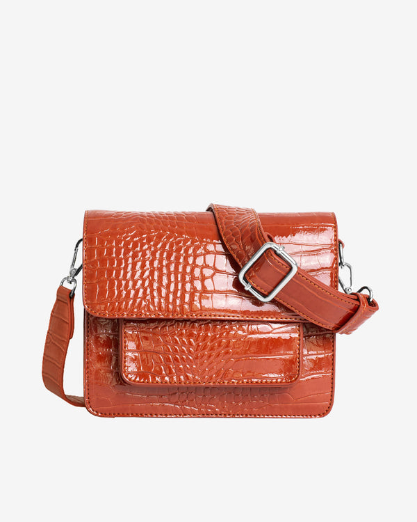 Hvisk CAYMAN POCKET Crossbody 084 Chestnut