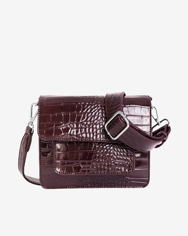 Hvisk CAYMAN POCKET Crossbody 085 Dark Burgundy