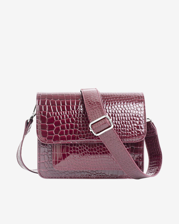 Hvisk CAYMAN POCKET Crossbody 106 Maroon