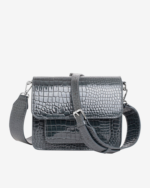 Hvisk CAYMAN POCKET Crossbody 123 Grey Dark