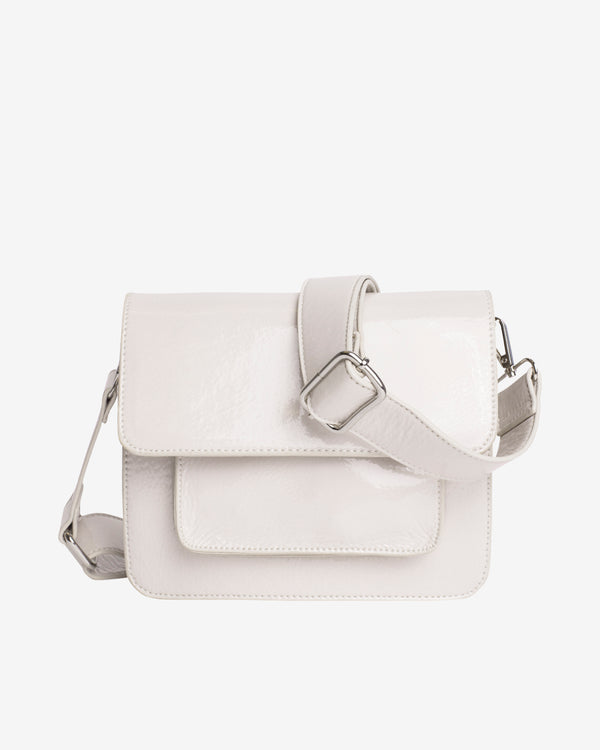 Hvisk CAYMAN POCKET GLOSSY Crossbody 027 White