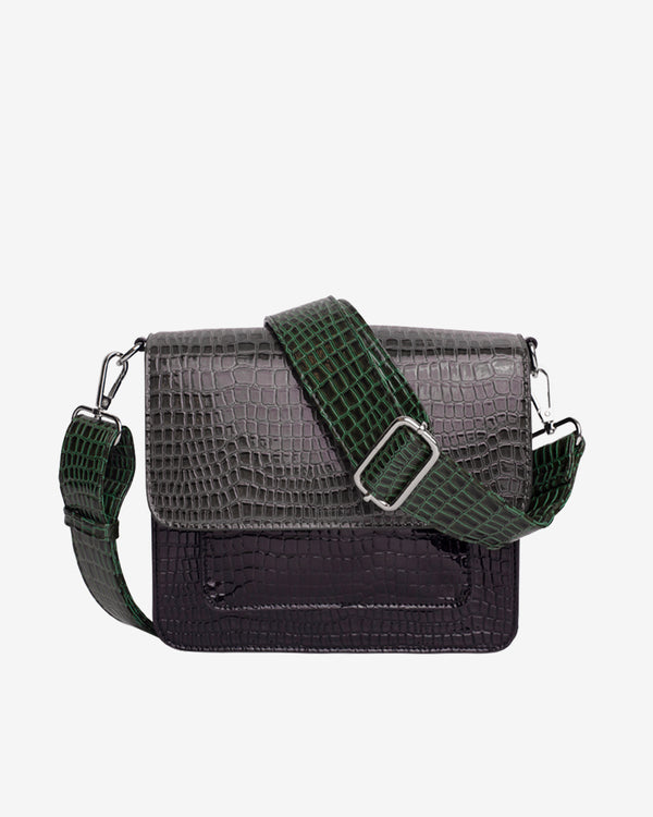 Hvisk CAYMAN POCKET MULTI Crossbody 077 Dark Grey