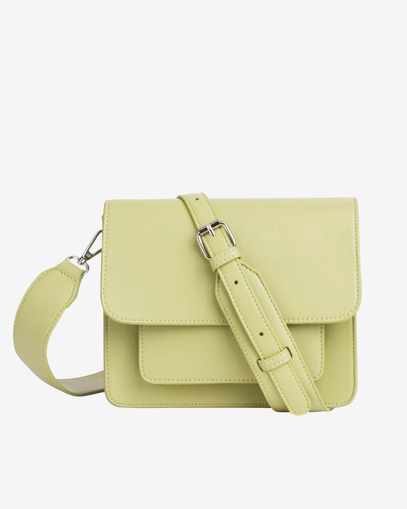 Hvisk CAYMAN POCKET SOFT Crossbody 111 Lime Green