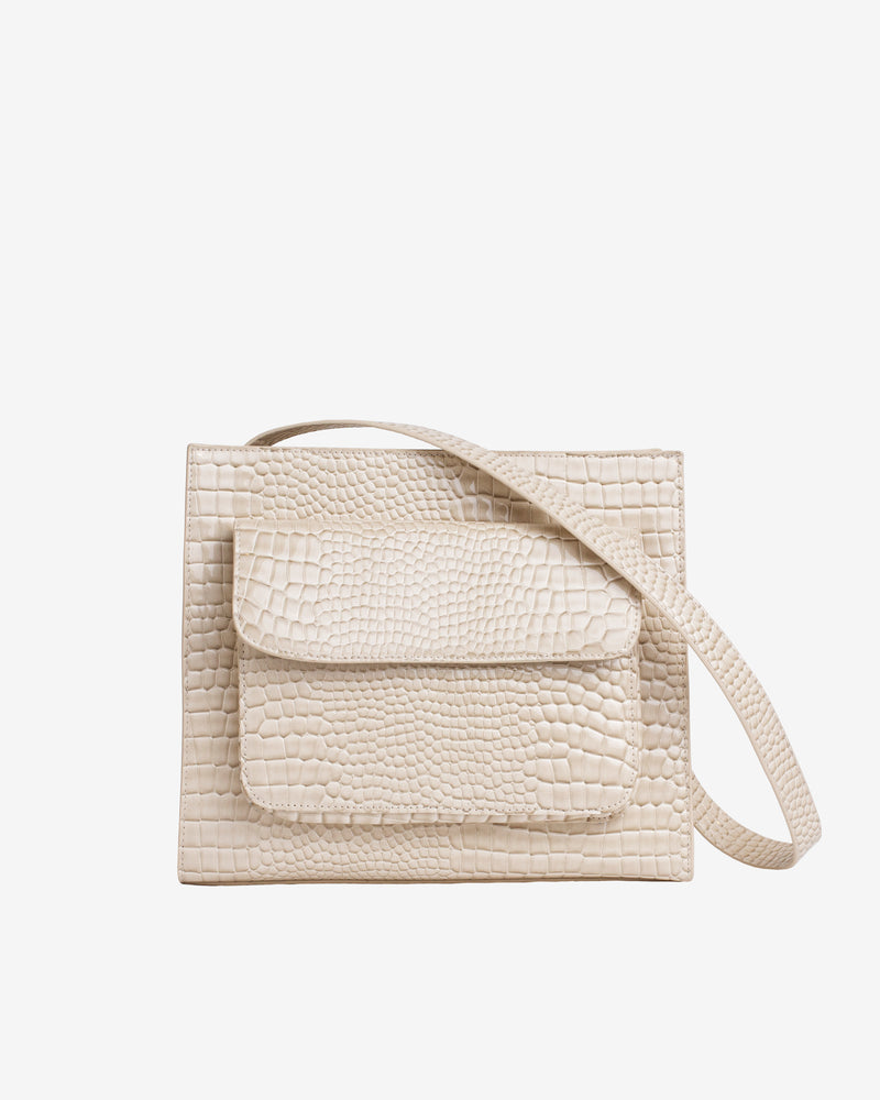 Hvisk CAYMAN TOTE MEDIUM Crossbody 116 Soft offwhite