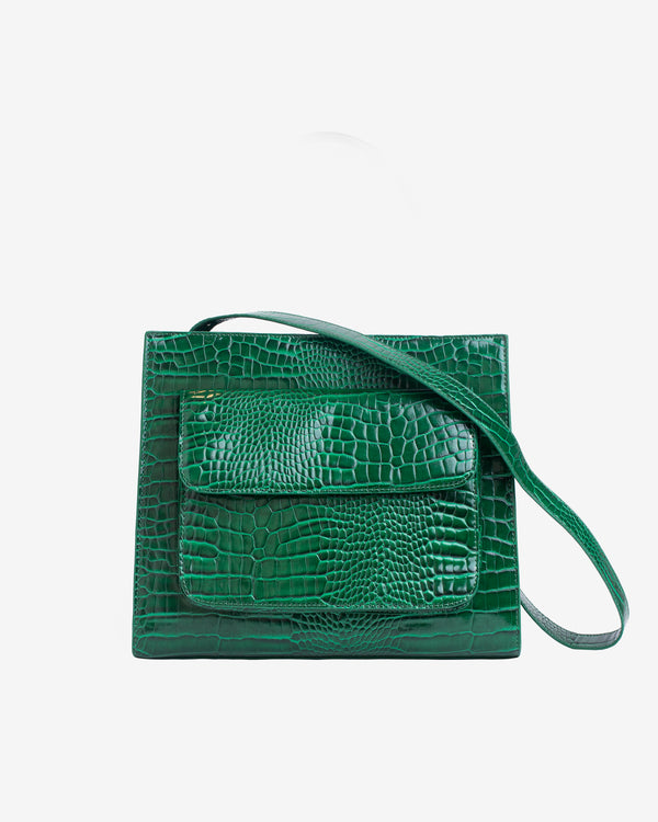 Hvisk CAYMAN TOTE MEDIUM Crossbody 127 Pine Green