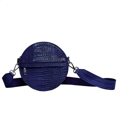 Hvisk CAYMAN CIRCLE Crossbody 003 Midnight Blue