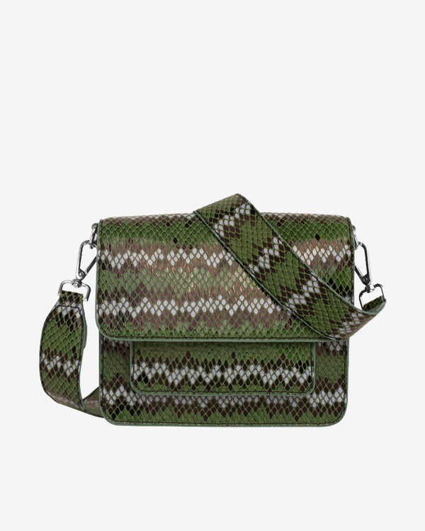 Hvisk CAYMAN SNAKE POCKET Crossbody 010 Green