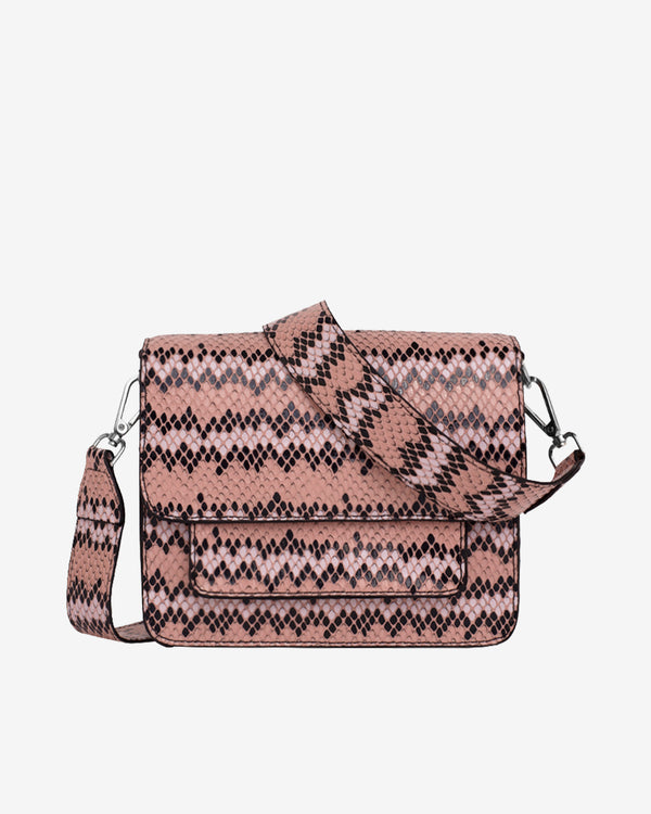 Hvisk CAYMAN SNAKE POCKET Crossbody 022 Pink