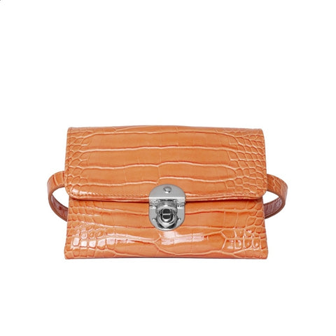Hvisk CAYMAN WAIST Waist Bag 068 Pastel Orange