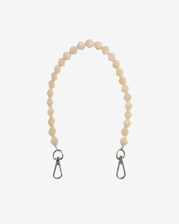 Hvisk CRYSTAL CHAIN HANDLE Strap 090 Cream