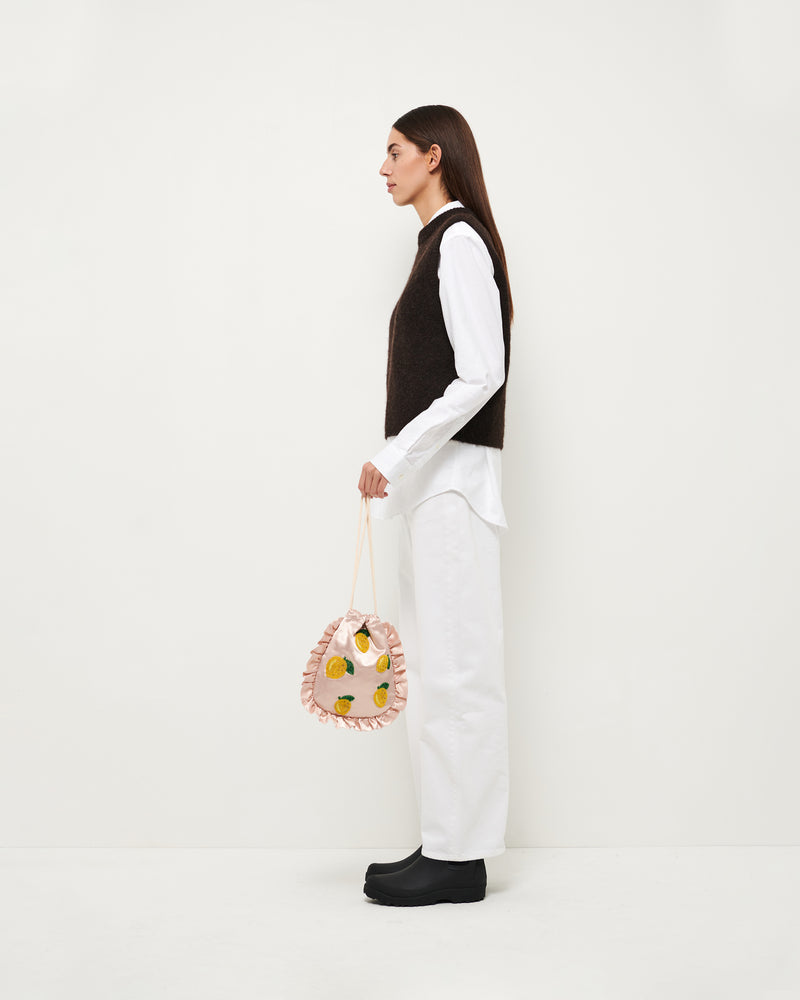 Hvisk DROP LEMONS Handle Bag 028 Peach