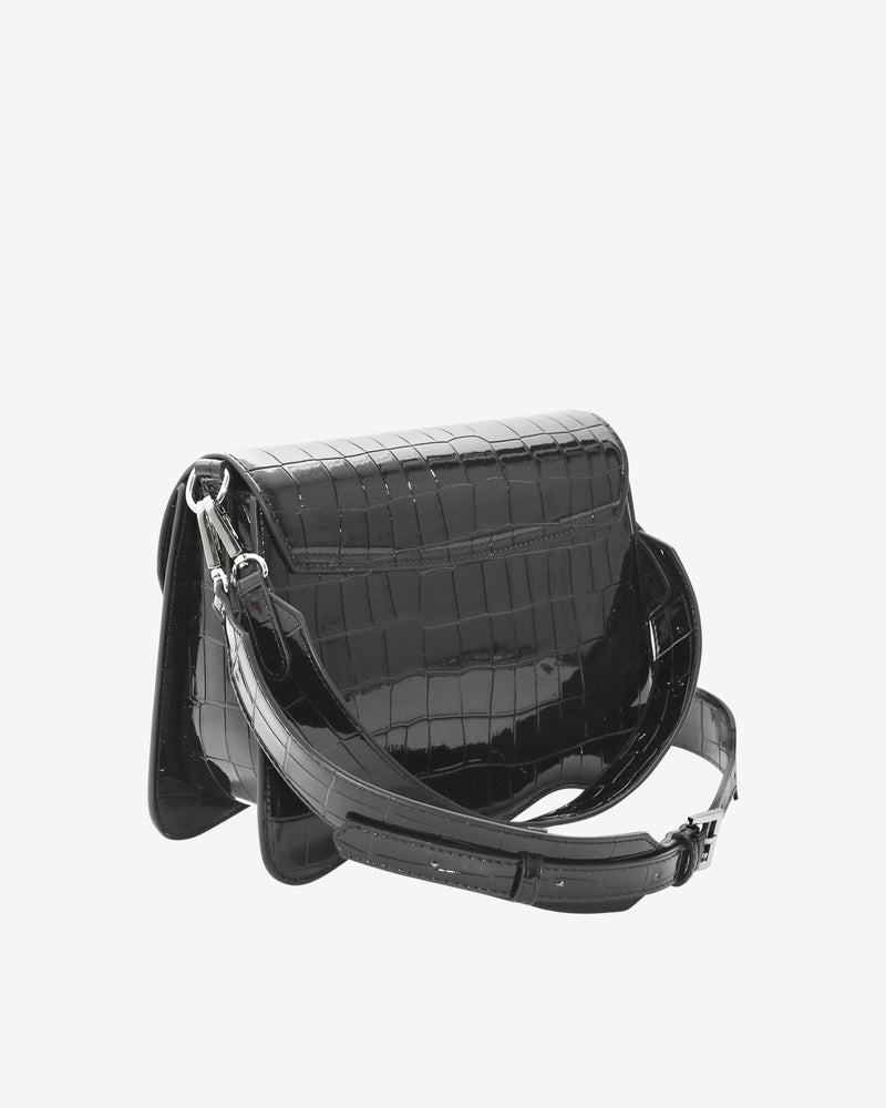 Hvisk ELUDE CROCO Crossbody 009 Black