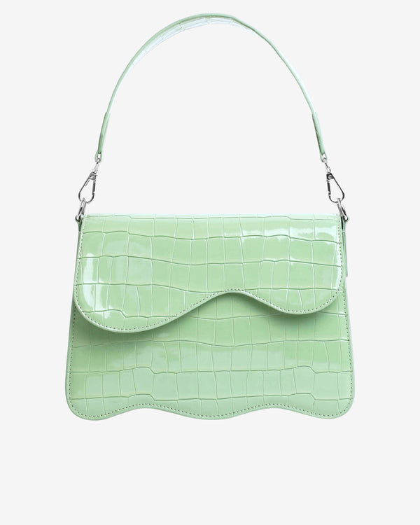 Hvisk ELUDE CROCO Crossbody 095 Mint Green