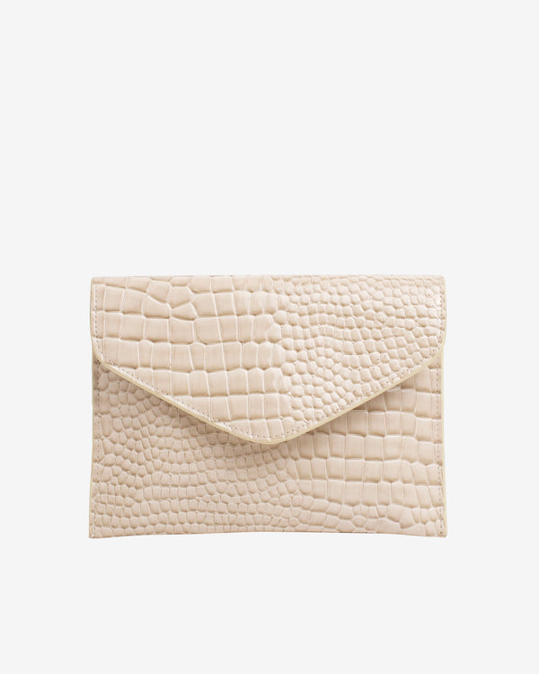 Hvisk EVOLVE CROCO Crossbody 116 Soft offwhite