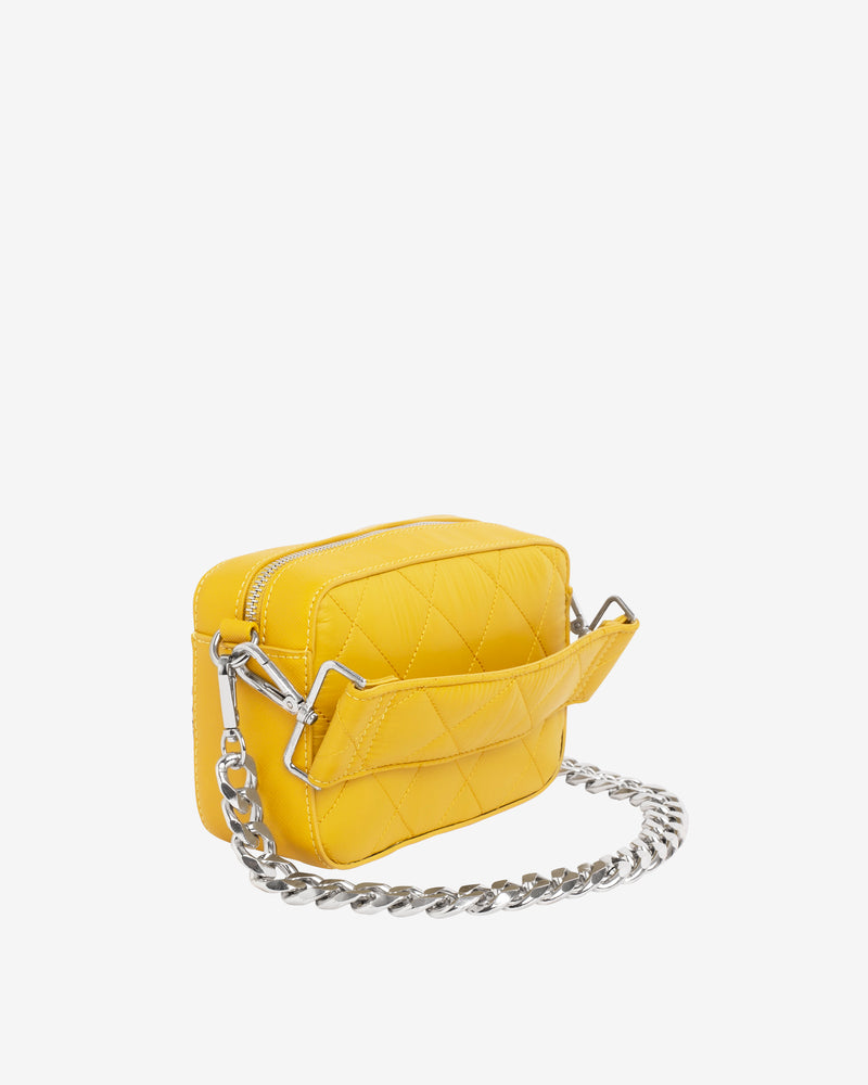 Hvisk GLAZE QUILTED TRAWL Crossbody 018 Yellow