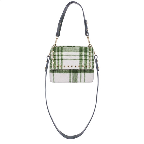 Hvisk Mellow Bag Crossbody 039 White / Green