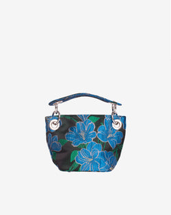 Hvisk NEAT MINI WATER FLOWER Handle Bag 009 Black