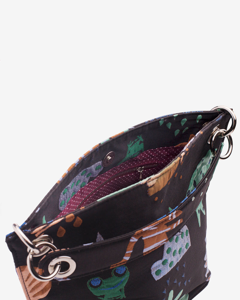 Hvisk NEAT JUNGLE Handle Bag 009 Black