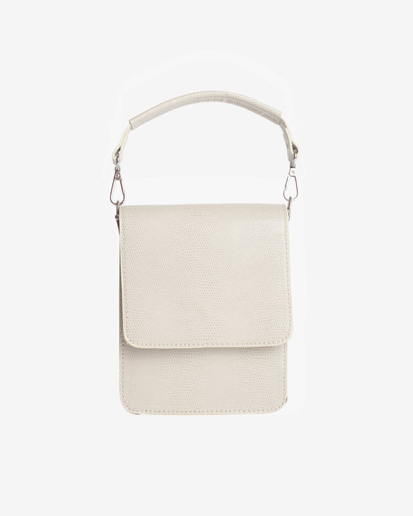 Hvisk POSH MINI SPOT Handle Bag 090 Cream