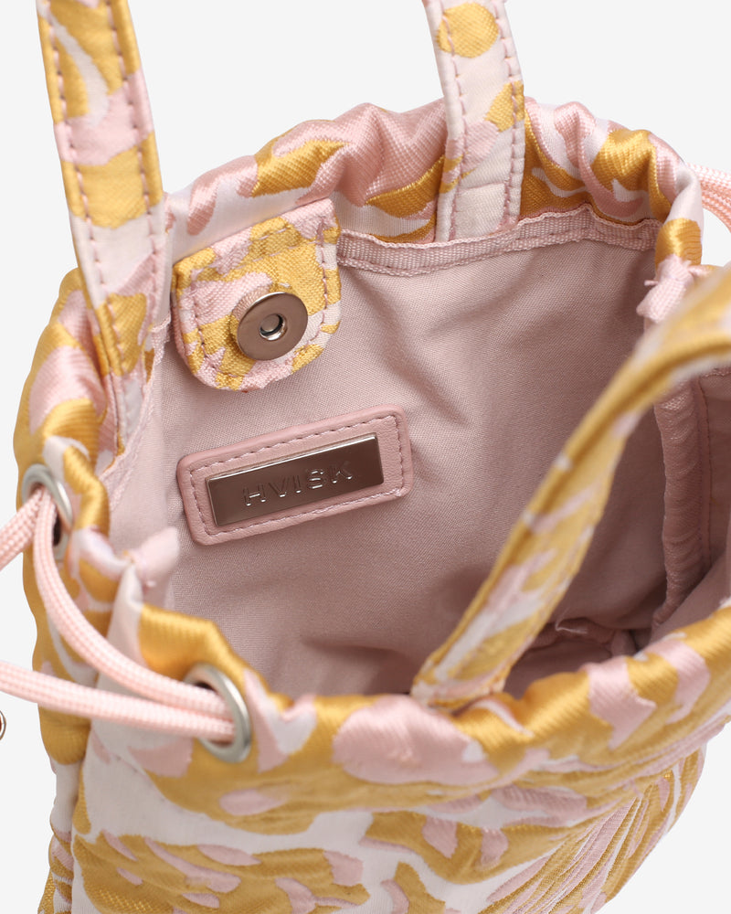 Hvisk POUCH SAVILLE Handle Bag 109 Sunkissed Yellow