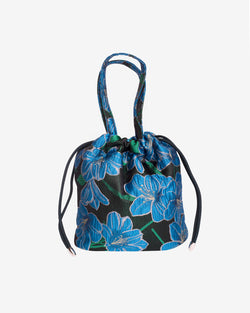 Hvisk POUCH WATER FLOWER Handle Bag 009 Black