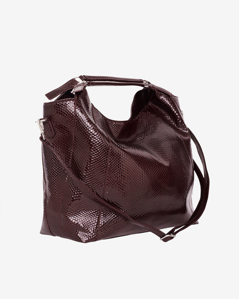 Hvisk PRANCE BOA Shopper 078 Burgundy