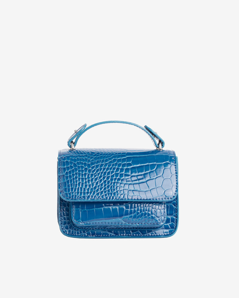 Hvisk RENEI CROCO Crossbody 117 Klein Blue