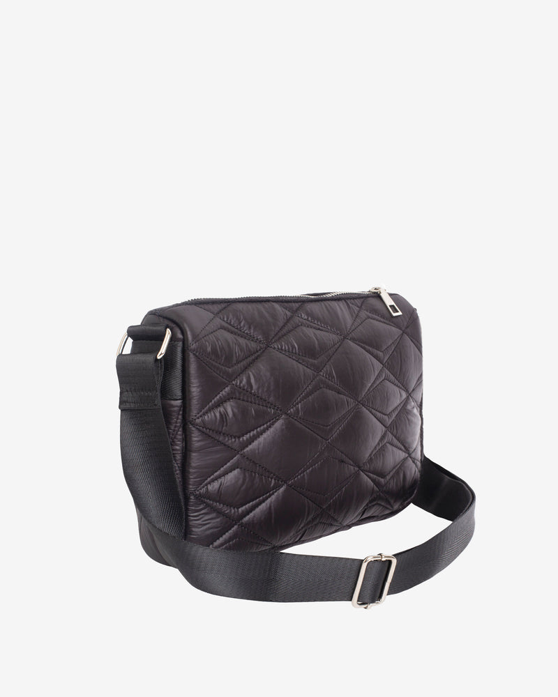 Hvisk TERRA QUILTED SEA Crossbody 009 Black