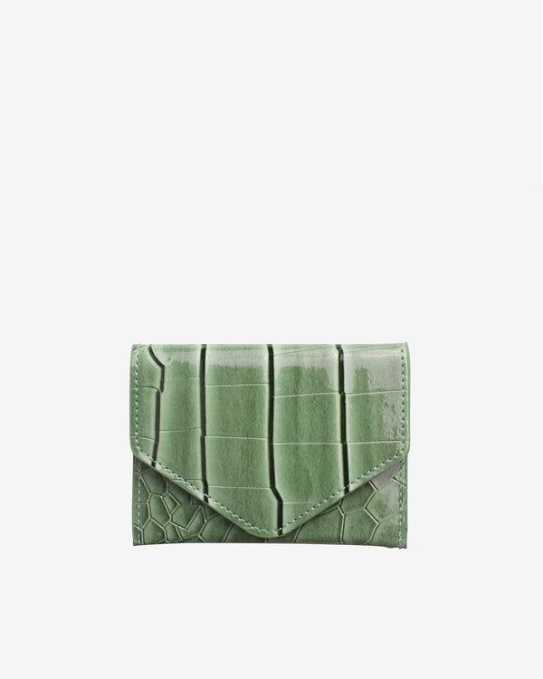 Hvisk WALLET CROCO Wallet 002 Dusty Green