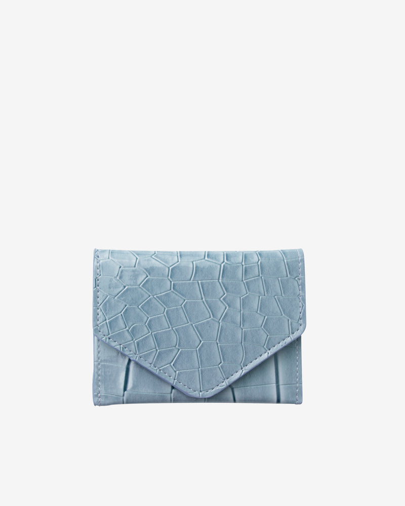 Hvisk WALLET CROCO Wallet 0071 Dusty Blue