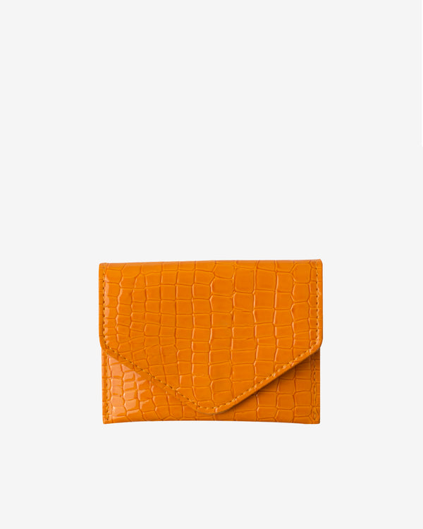 Hvisk WALLET CROCO Wallet 015 Orange