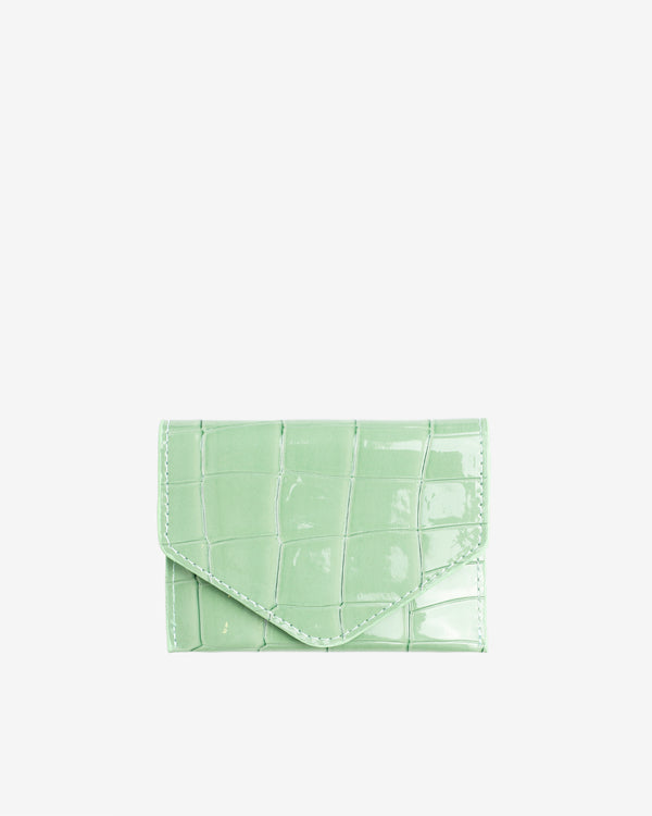 Hvisk WALLET CROCO Wallet 095 Mint Green