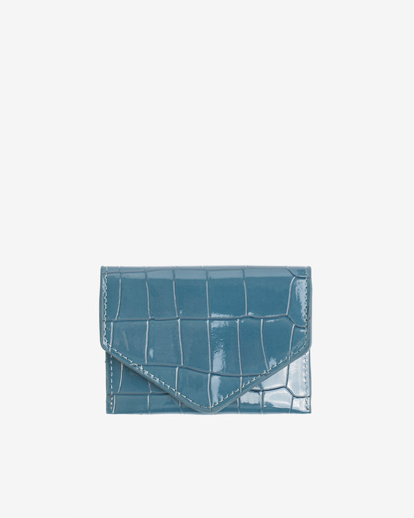 Hvisk WALLET CROCO Wallet 100 Dark Blue