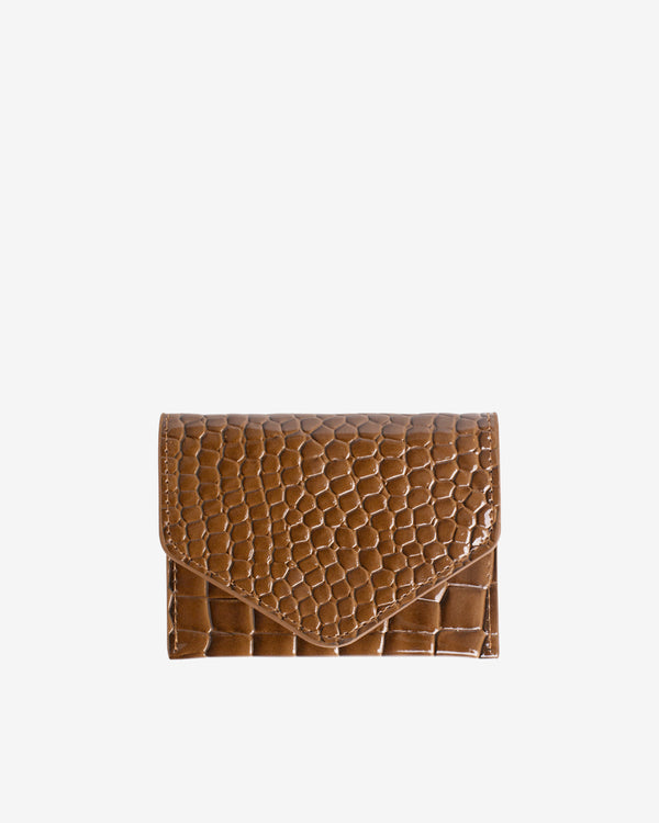 Hvisk WALLET CROCO Wallet 124 Brownish