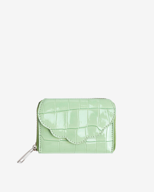 Hvisk WALLET SHELL CROCO Wallet 095 Mint Green