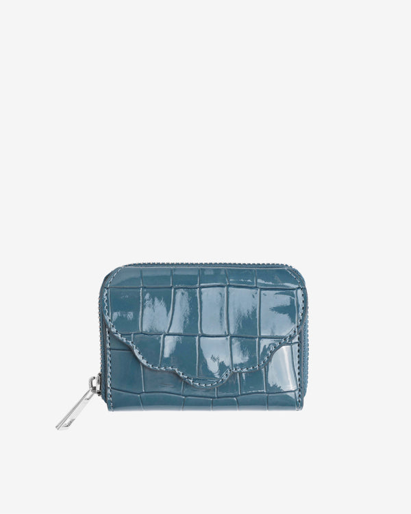 Hvisk WALLET SHELL CROCO Wallet 100 Dark Blue